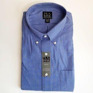 JOS. A. BANKS MEN'S TRAVELER EDITION DRESS SHIRT